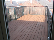 An Outside Decking Area from one of our Properties